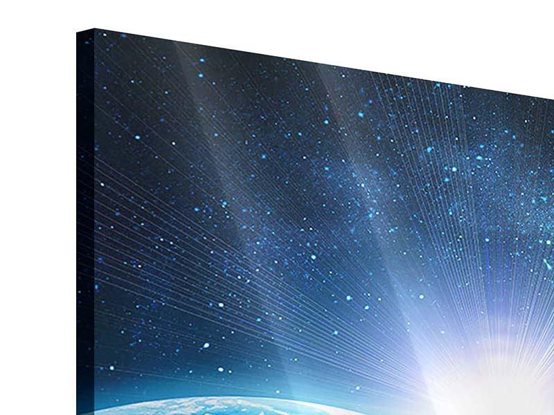Acrylglasbild 4-teilig Galaxien