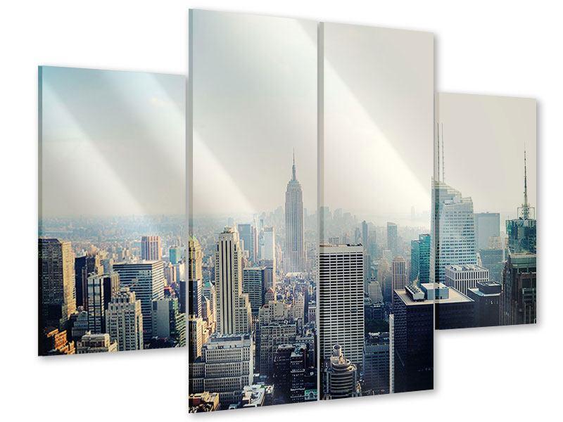 Acrylglasbild 4-teilig NYC