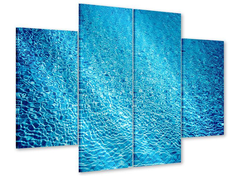 Acrylglasbild 4-teilig Tauchgang