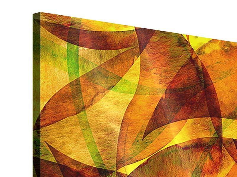 Acrylglasbild 4-teilig Abstraktes Gemälde