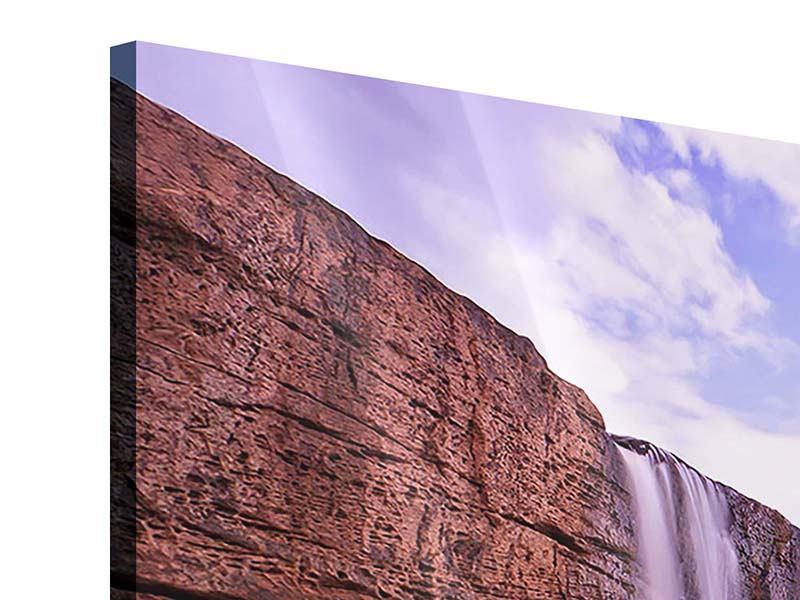 Acrylglasbild 4-teilig Himmlischer Wasserfall