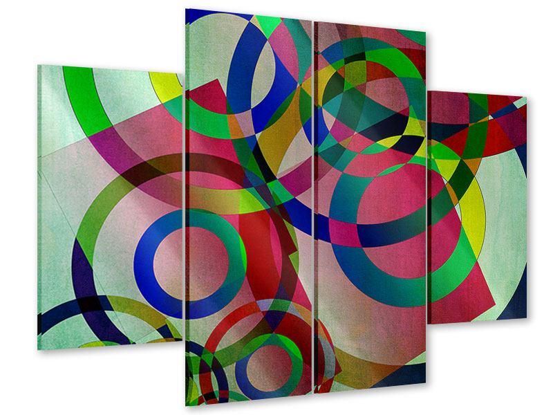 Acrylglasbild 4-teilig Wandkunst