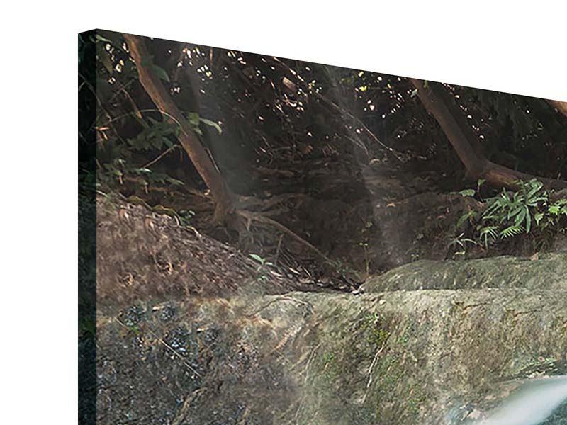 Acrylglasbild 4-teilig Am Fluss des Lebens