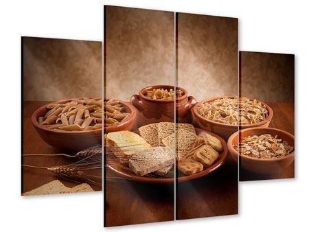 Acrylglasbild 4-teilig Das Volle Korn