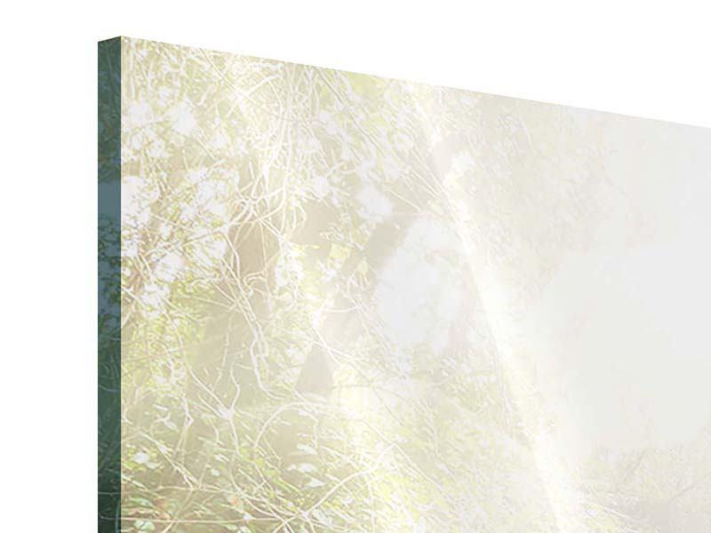 Acrylglasbild 4-teilig Die grüne Lagune