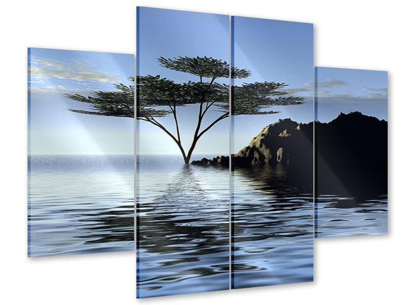 Acrylglasbild 4-teilig Naturfaszination