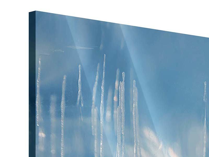 Acrylglasbild 4-teilig Das Eis des Baikalsees