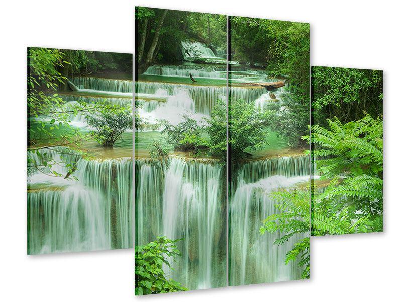 Acrylglasbild 4-teilig 7 Stufen in Thailand