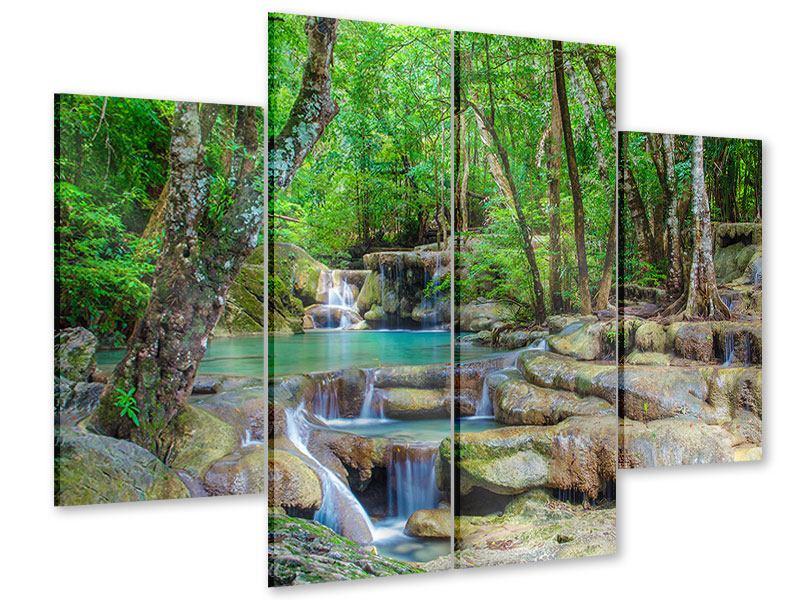 Acrylglasbild 4-teilig Wasserspektakel
