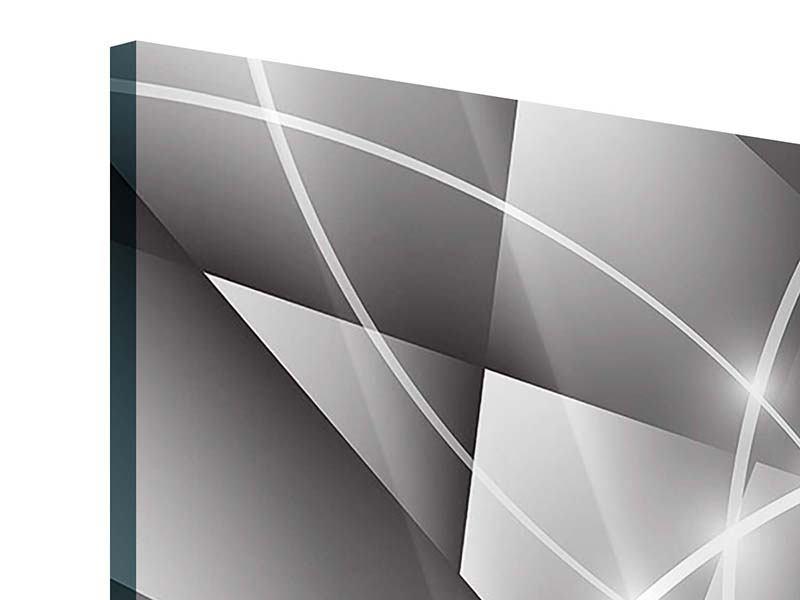 Acrylglasbild 4-teilig Geometrie