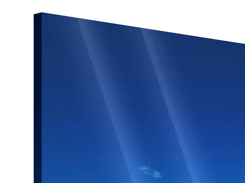 Acrylglasbild 4-teilig Die Trauminsel