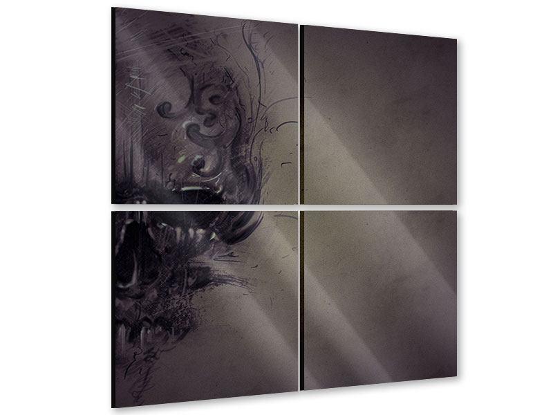 Acrylglasbild 4-teilig Fantasy