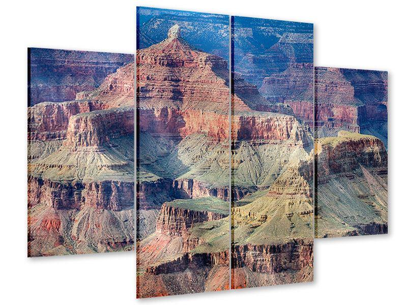 Acrylglasbild 4-teilig Gran Canyon