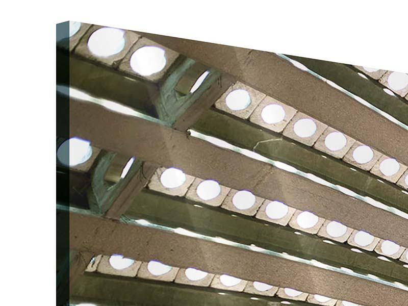 Acrylglasbild 4-teilig Abstraktes Rad