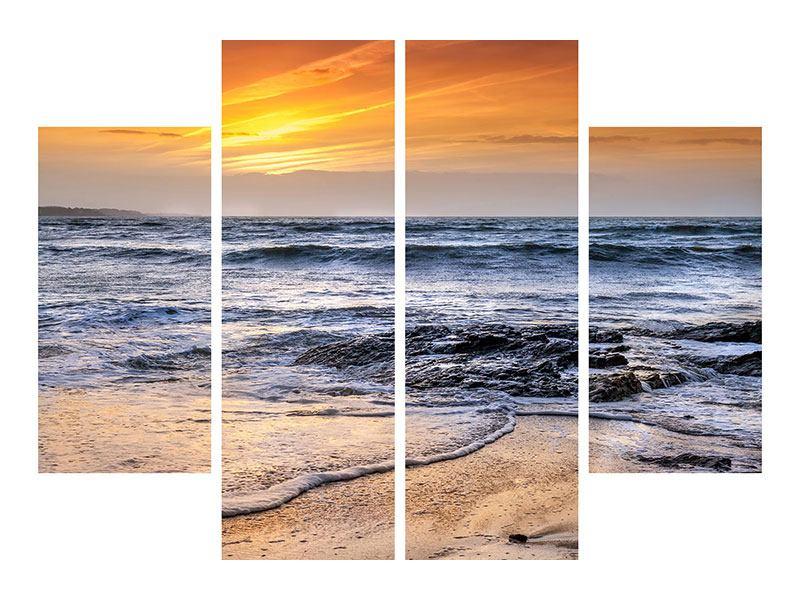 Acrylglasbild 4-teilig Das Meer