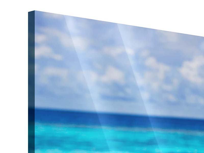 Acrylglasbild Der Pool ins Meer