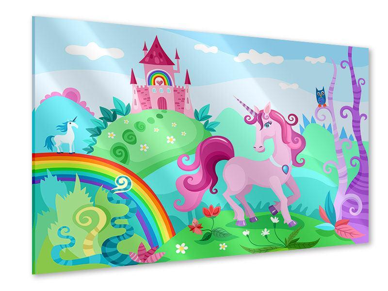 Acrylglasbild Prinzessinnentraum