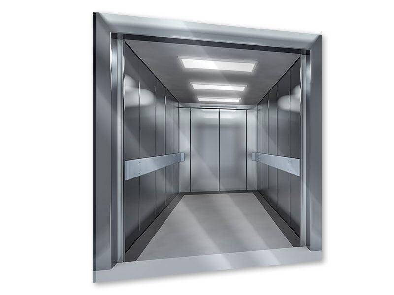 Acrylglasbild Aufzug