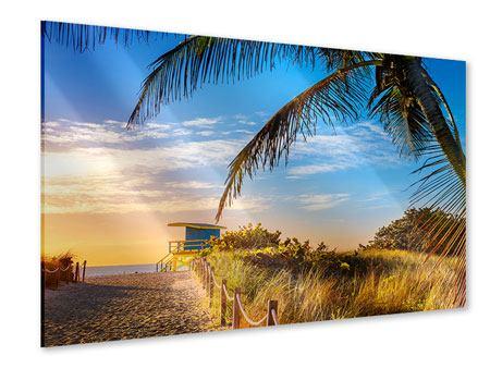 Acrylglasbild Sandkörner