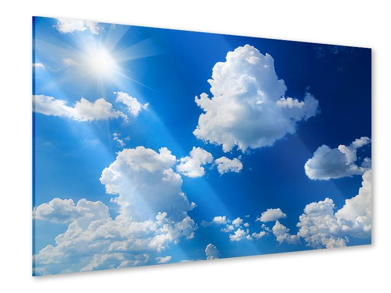 Acrylglasbild Himmelblau