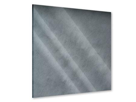 Acrylglasbild Dunkelgraue Wand