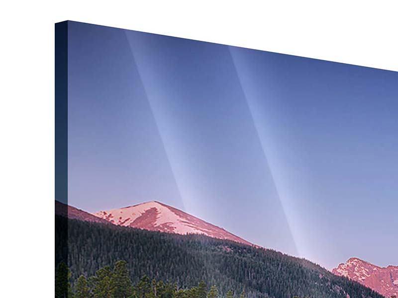 Acrylglasbild Sprague Lake-Rocky Mountains