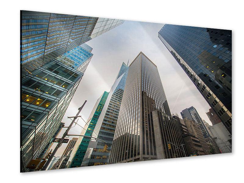 Acrylglasbild Hochhäuser