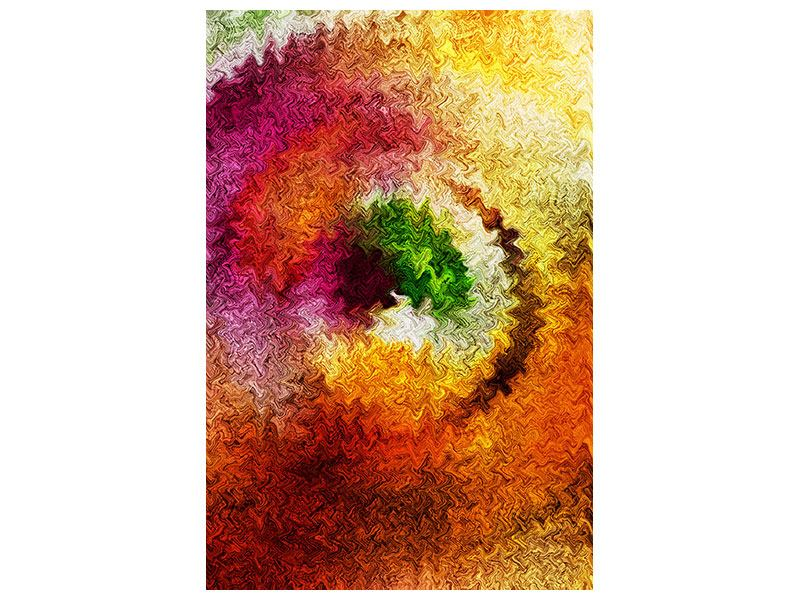 Acrylglasbild Aquarell-Gemälde