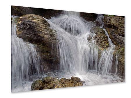 Acrylglasbild Wasserfall XXL