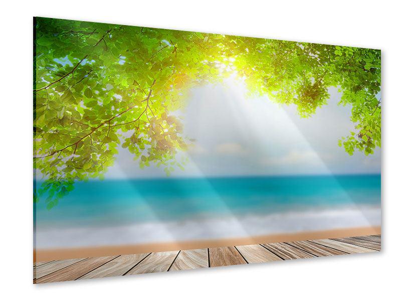 Acrylglasbild Strandterrasse