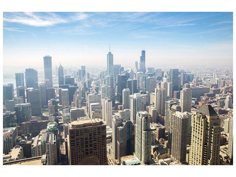 Acrylglasbild Wolkenkratzer Chicago