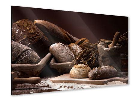 Acrylglasbild Brotbäckerei