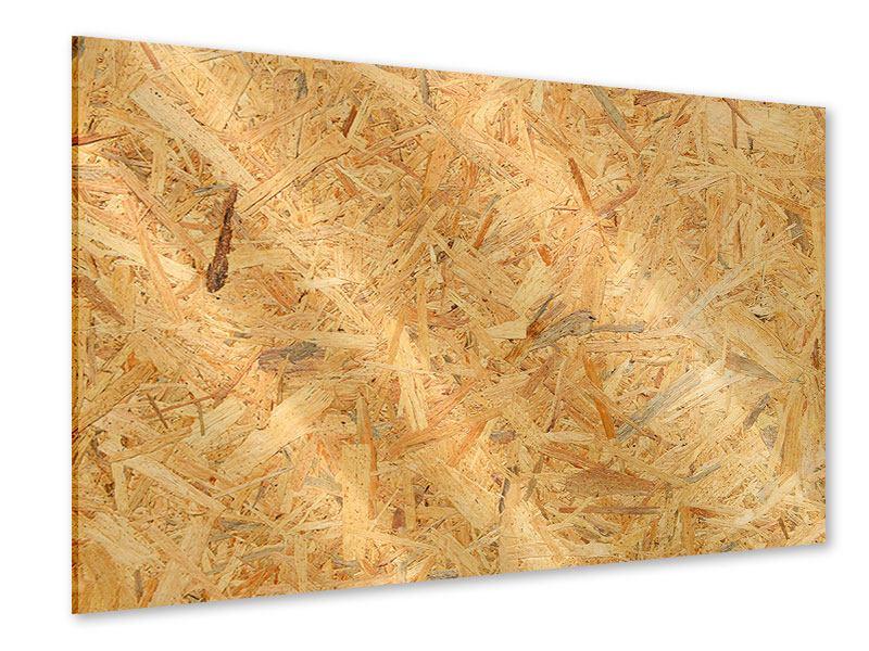 Acrylglasbild Gepresstes Holz