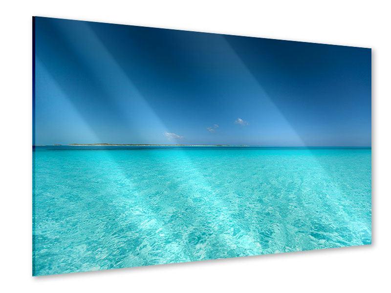 Acrylglasbild Das Meer und Jules Verne