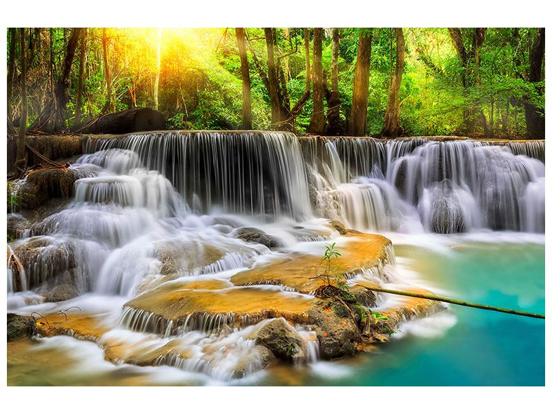 Acrylglasbild Nationalpark Si Nakharin