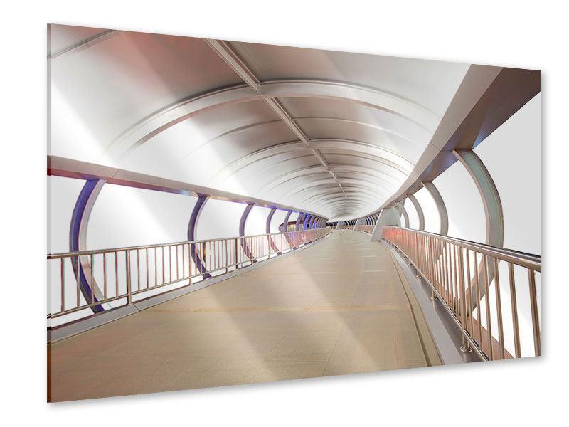 Acrylglasbild Brückenfeeling