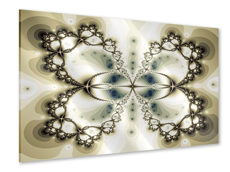 Acrylglasbild Abstrakter Schmetterling