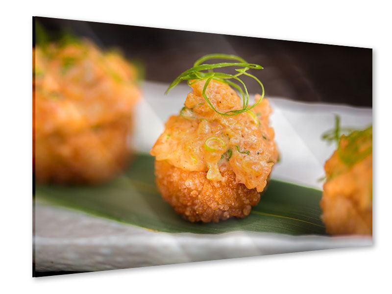 Acrylglasbild Asiatische Küche