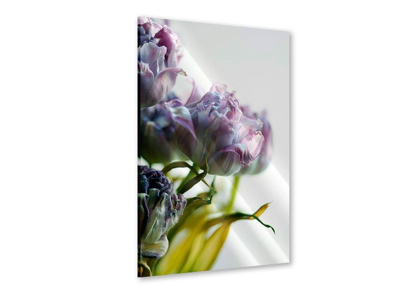 Acrylglasbild Der Tulpenstrauss