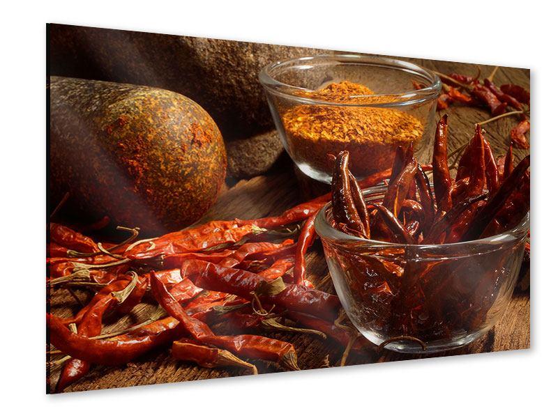 Acrylglasbild Chili