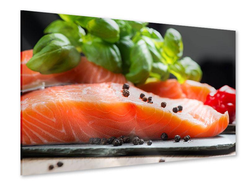 Acrylglasbild Frischer Fisch