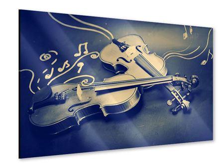 Acrylglasbild Geigen