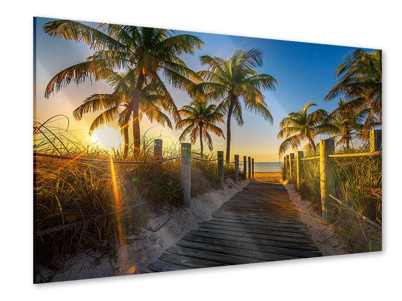 Acrylglasbild Das Strandhaus