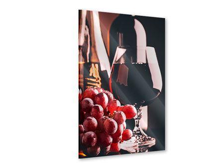 Acrylglasbild Rotwein