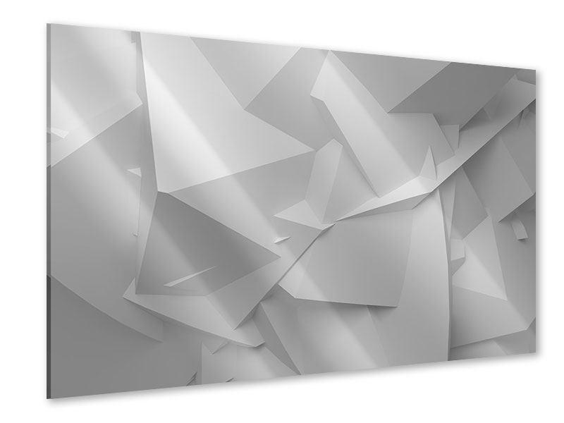 Acrylglasbild 3D-Raster