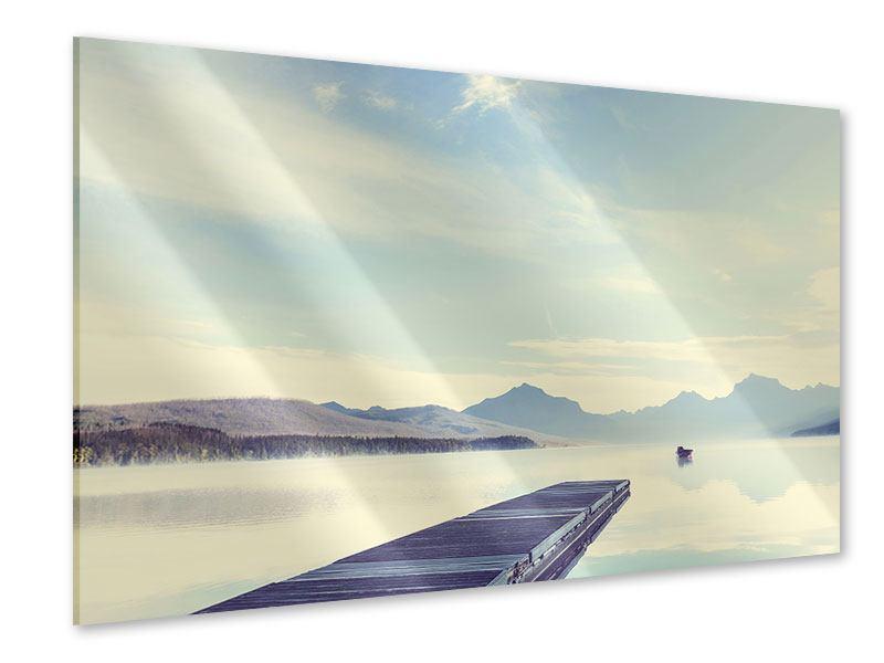 Acrylglasbild Bergromantik