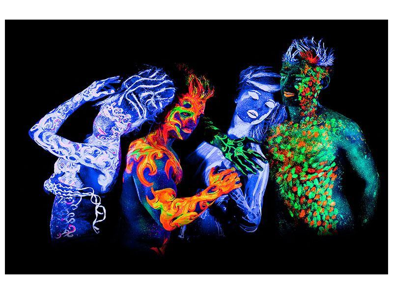 Acrylglasbild Bodypainting