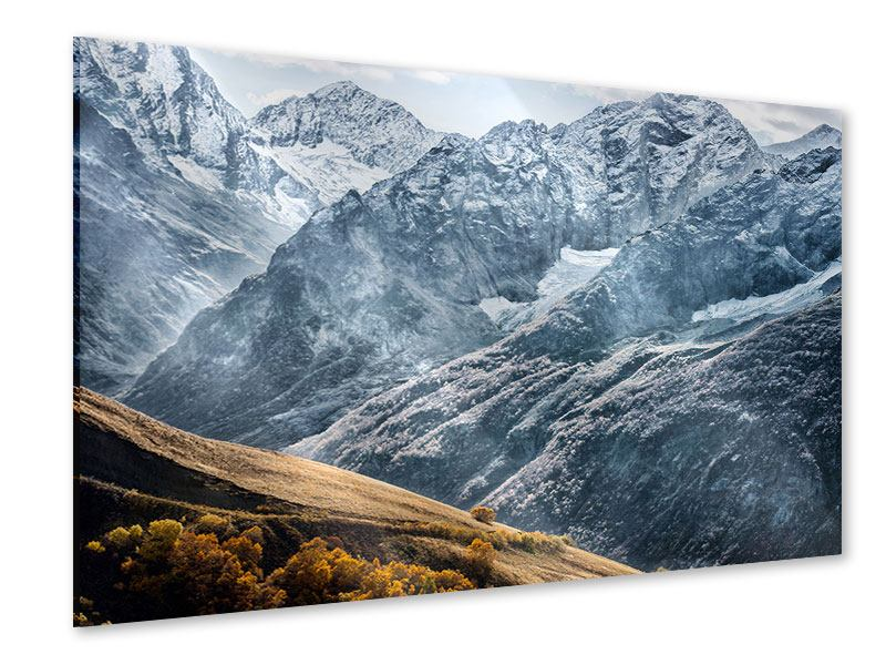 Acrylglasbild Gigantische Berggipfel