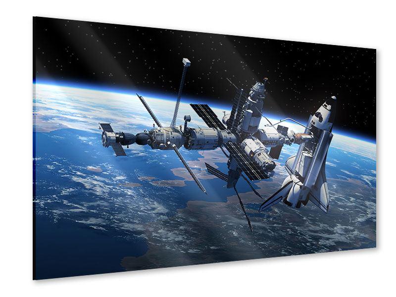 Acrylglasbild Satellit