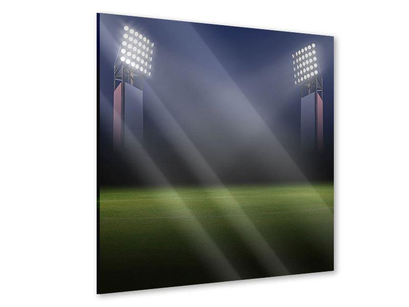 Acrylglasbild Fussballstadion